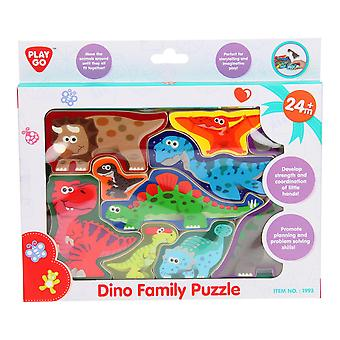 Playgo Puzzle Dinosaurier