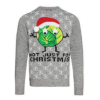 Christmas Shop vuxna Unisex groddar jul Jumper