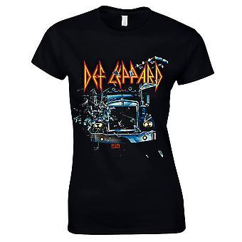 Def Leppard - On Through The Night T-Shirt, Women