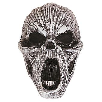 Ghost gloed In de donkere kunststof masker
