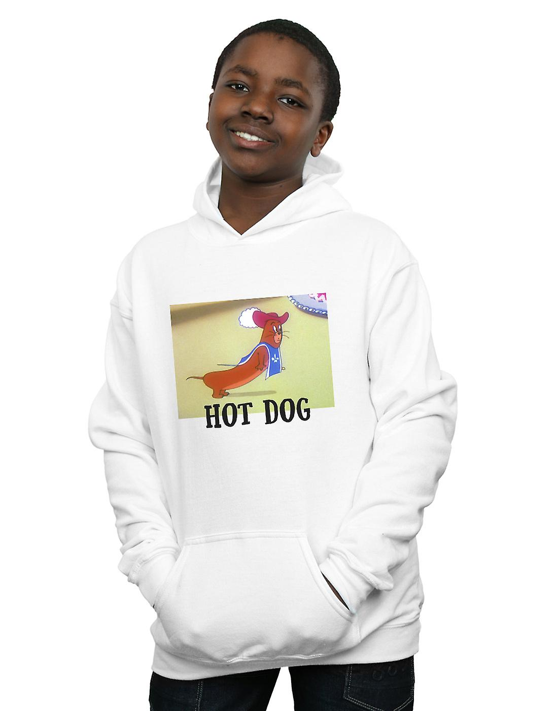 Tom And Jerry Boys Hot Dog Hoodie