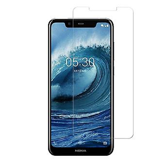 Nokia 5,1 PLUS karkaistu lasi näytön suoja vähittäiskauppa