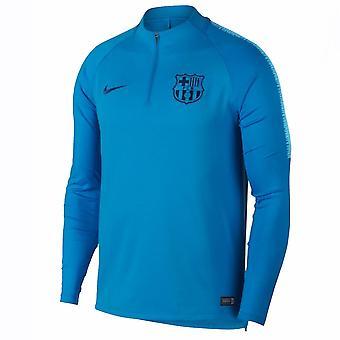 2018-2019 Barcelona Nike bore træningstrøje (ækvator blå)