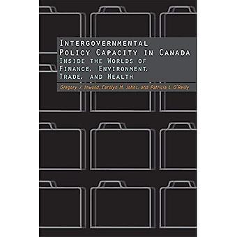 Intergouvernementale Politik Kapazität in Kanada