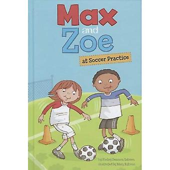 Max og Zoe fodboldtræning