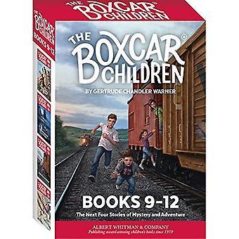 De Mysteries van de kinderen Boxcar Boxed Set #9-12