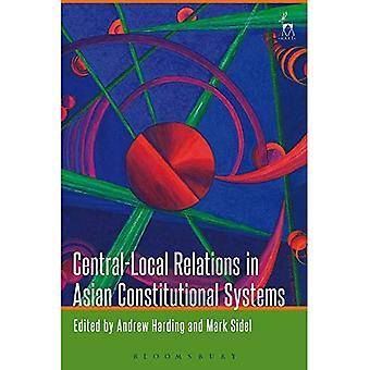 Central-lokal förbindelserna i asiatiska konstitutionella system