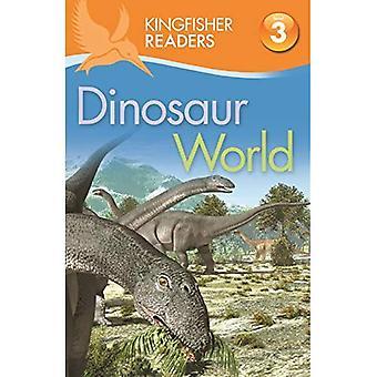 Ijsvogel lezers: Dinosaurus wereld (niveau 3: lezen alleen met wat hulp)