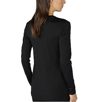 Mey 66011-003 Women's Mey Performance Black Long Sleeve Top
