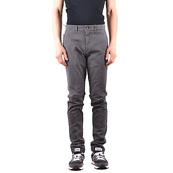 Harmont&blaine Ezbc096009 Men's Grey Cotton Pants