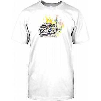 VW Split Screen kunstneriske Design Kids T Shirt
