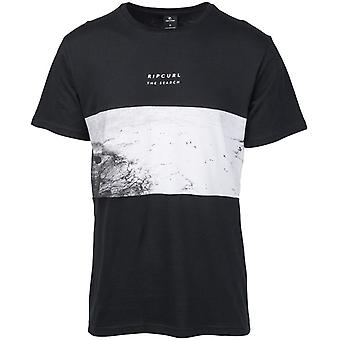 Rip Curl Busy Time Short Sleeve T-Shirt in Black