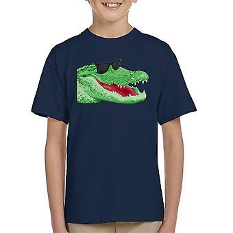 Koszulka dziecięca szczęśliwy krokodyla