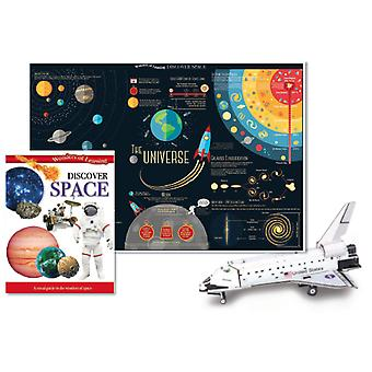 Wonders of Learning Discover Space Tin Set