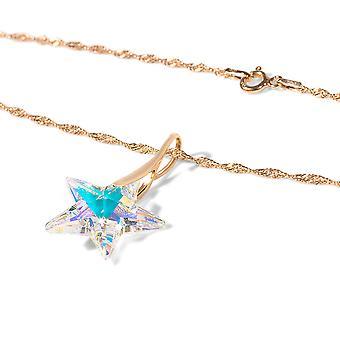 اه! مجوهرات أوربوريه ستار قلادة في فضة الاسترليني