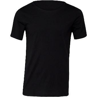 Cotton Addict Mens Jersey Cotton Raw Neck Tee T Shirt
