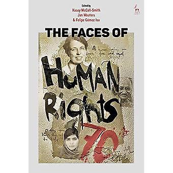 De gezichten van de mensenrechten