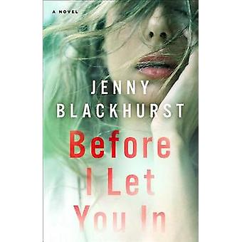 Before I Let You in by Jenny Blackhurst - 9781501168840 Book