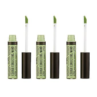 Barry M 3 X Barry M Colour Correcting Wands - Green