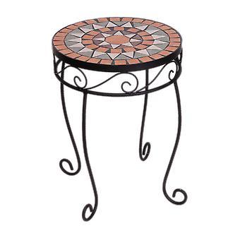 Panacea rustica Italia mosaico azulejo planta stand elegante
