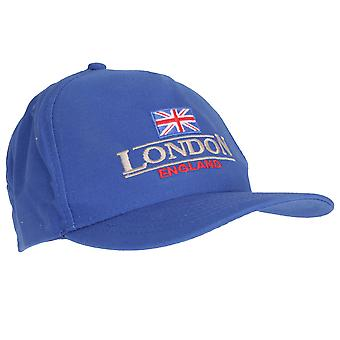 Unisex Blue London England Union Flag Cap