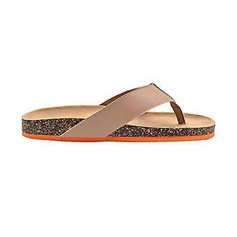 Kulta toe miesten pohjallinen sandaali flip flop dia kontrasti väri Sole lipsahdus kenkä