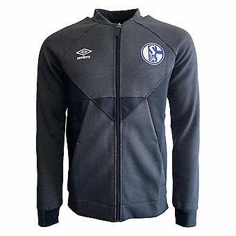 2019-2020 Schalke Umbro Presentation Jacket (Black)