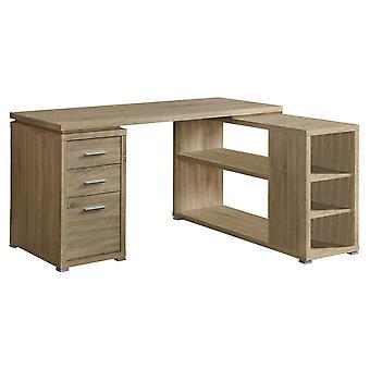 Computer desk - natural left or right facing corner