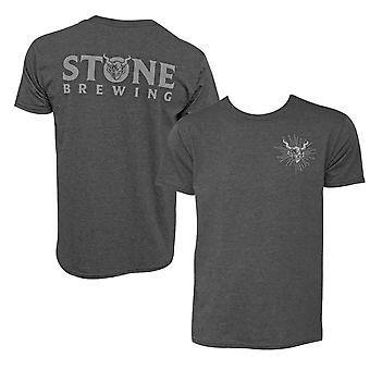 Stone Brewing Gargoyle Logo Gray Men-apos;s T-Shirt