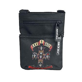Guns N Roses Crossbody Bag Appetite For Destruction Band Logo new Official Black