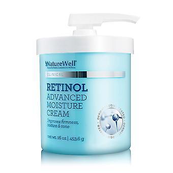 NatureWell Clinical Retinol Advanced Moisture Cream 16 oz / 453.6 g