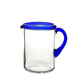 Bergdalshyttan-Blu cerchio-crema Jug dritto 30 cl Design