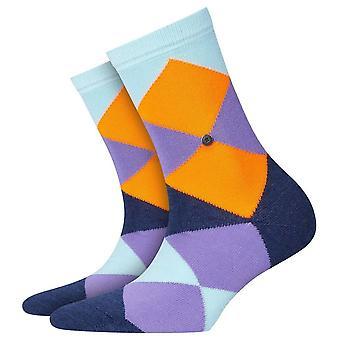 Burlington Bonnie Neon sukat-persikka/harmaa/Navy
