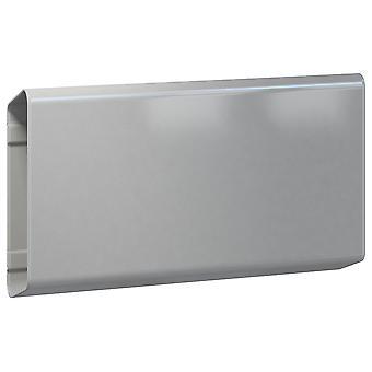 Serafini krant professionele slanke graualu 18 x 30 x 7,5 cm