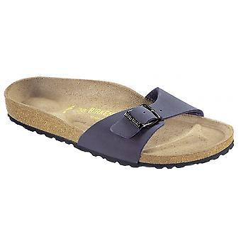 Birkenstock Madrid 040121 Navy, Beliebte Single Stap Sandale