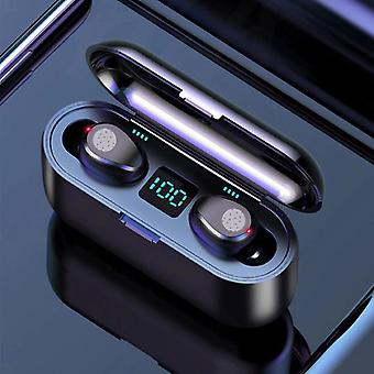 H & A TWS Wireless Smart Touch Control Earphones Bluetooth 5.0 Air Wireless Pods Earphones Earbuds Powerbank