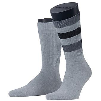Esprit Colour Block Rib 2-Pack Socken - Hellgrau