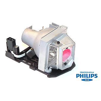 Premium Power Replacement projektor lampa med Philips glödlampa för Dell 317-2531