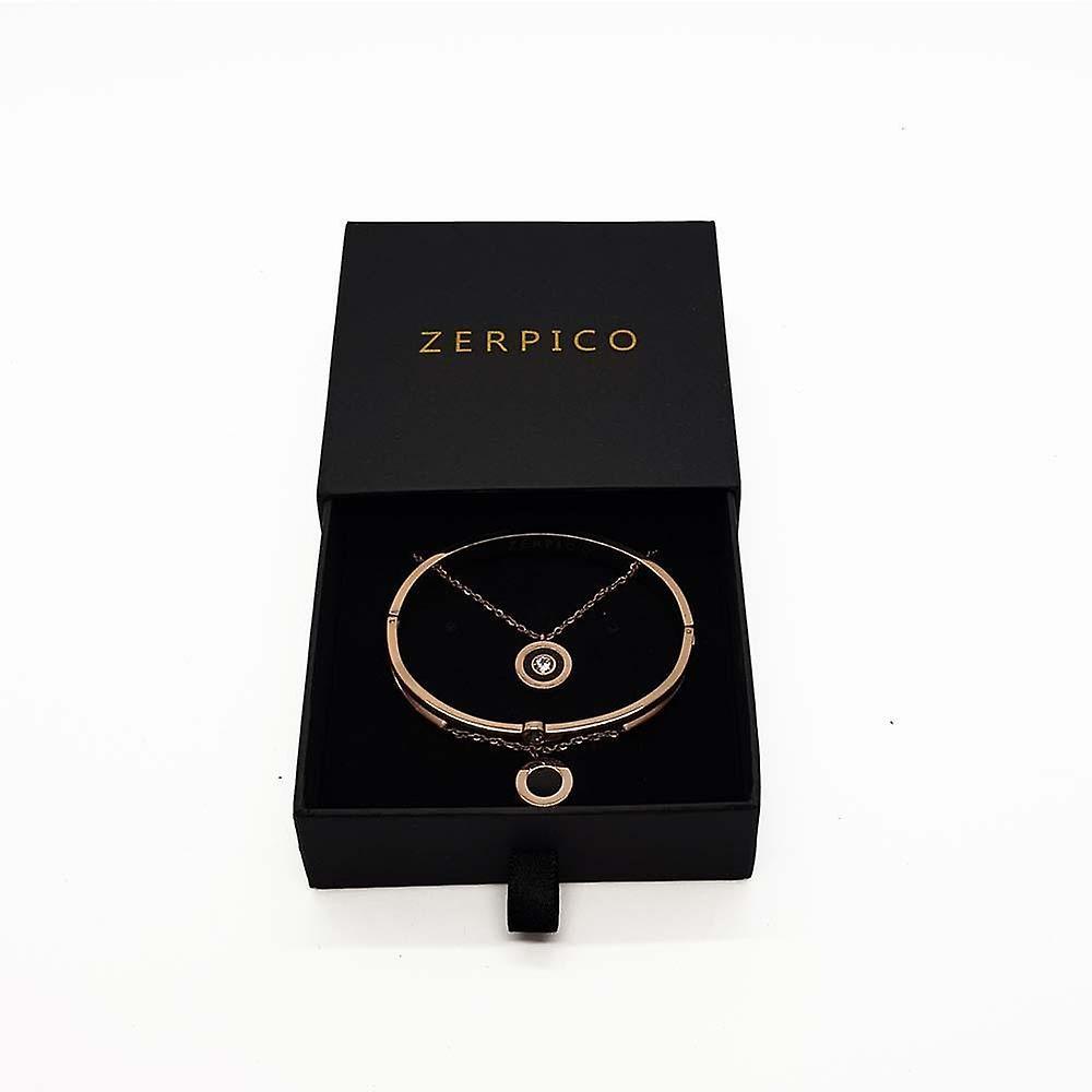 Jericho Rosé Gold Necklace & Bracelet Bundle