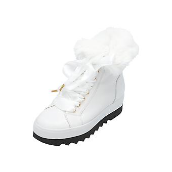 Högl 4-101830 Women's Boots White Lace-Up Boots Winter