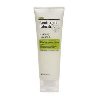 Neutrogena naturals purifying pore spf scrub, 4 oz