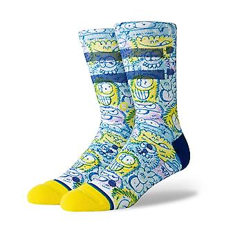 Stance Kevin Lyons Crunch Crew Socks in Blue