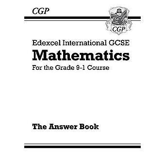 Edexcel International GCSE Maths Answers for Workbook  for