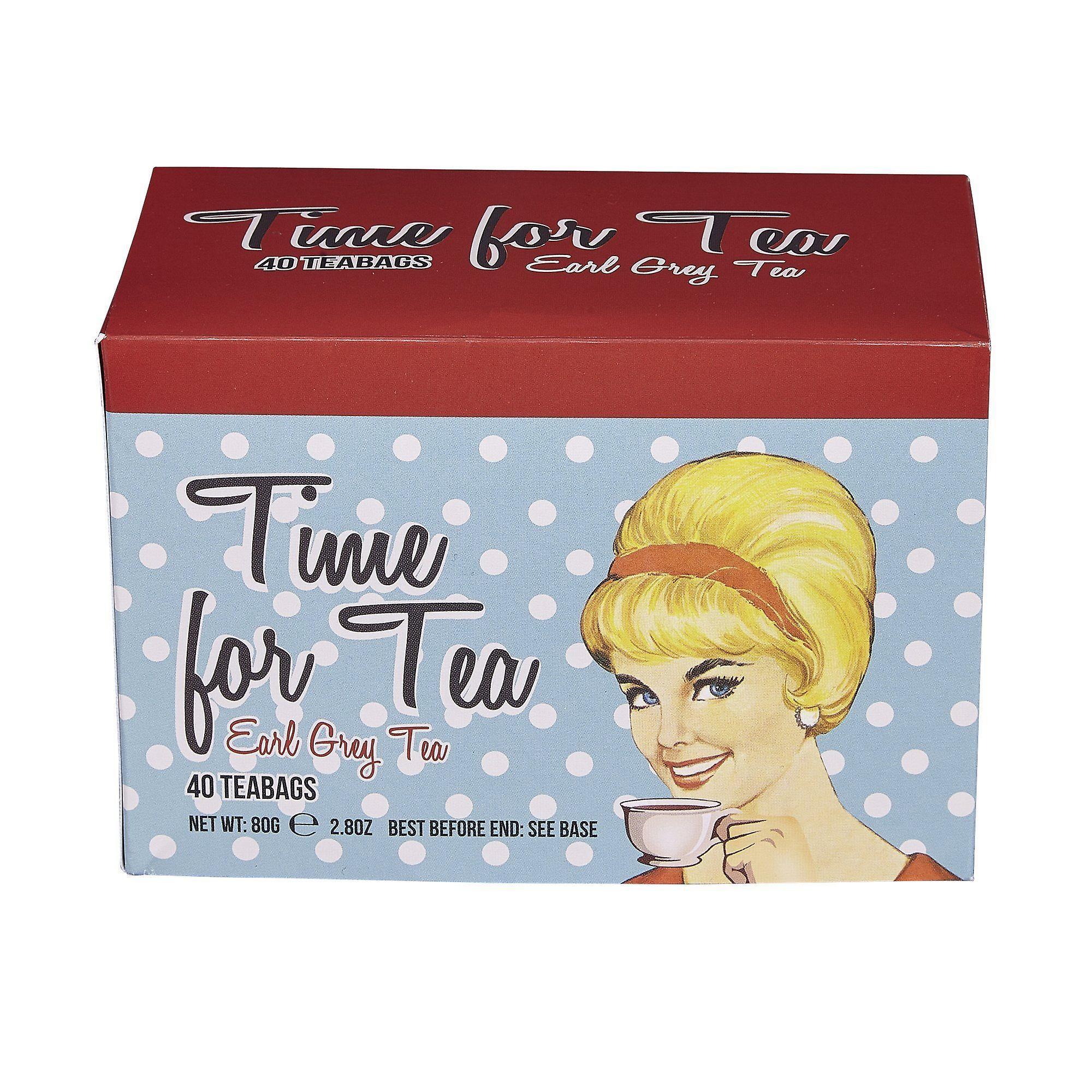 Time for tea earl grey tea 40 teabag carton