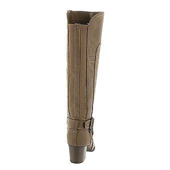 Indigo Rd. Womens simona Leather Almond Toe Knee High Fashion Boots