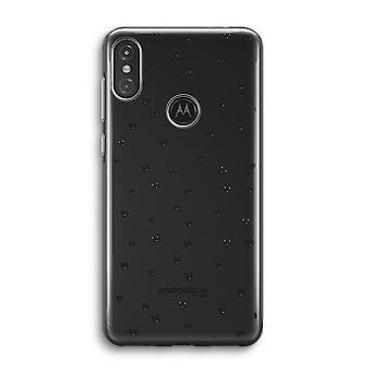 Motorola Moto One Power (P30 Note) Transparent Case (Soft) - Petits chats