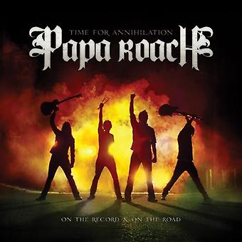 Papa Roach - Time for Annihilation...on the Record & [CD] USA import