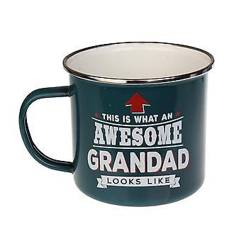 Historia & Heraldry Grandad Tin Mug 4