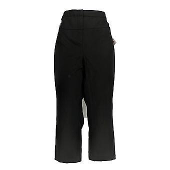 Alfani Women's Pants Hardware Capri Length Black