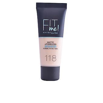 Maybelline Fit Me Matte+poreless Foundation #110-porcelaine For Women